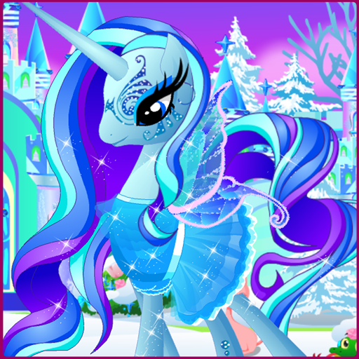 Ice Pony Pet Salon (Pets Dress Up)