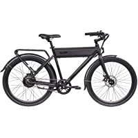 RIDE1UP 500w 48v Electric Bike, Samsung Lithium-Ion, Steel Frame Integrated LCD Display and LED Lights, Cargo Rack