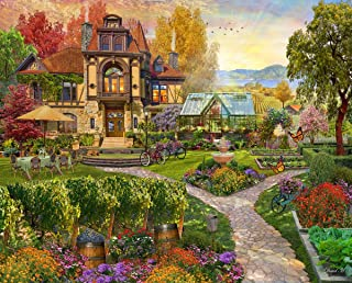 product image for Springbok's 500 Piece Jigsaw Puzzle Vineyard Retreat