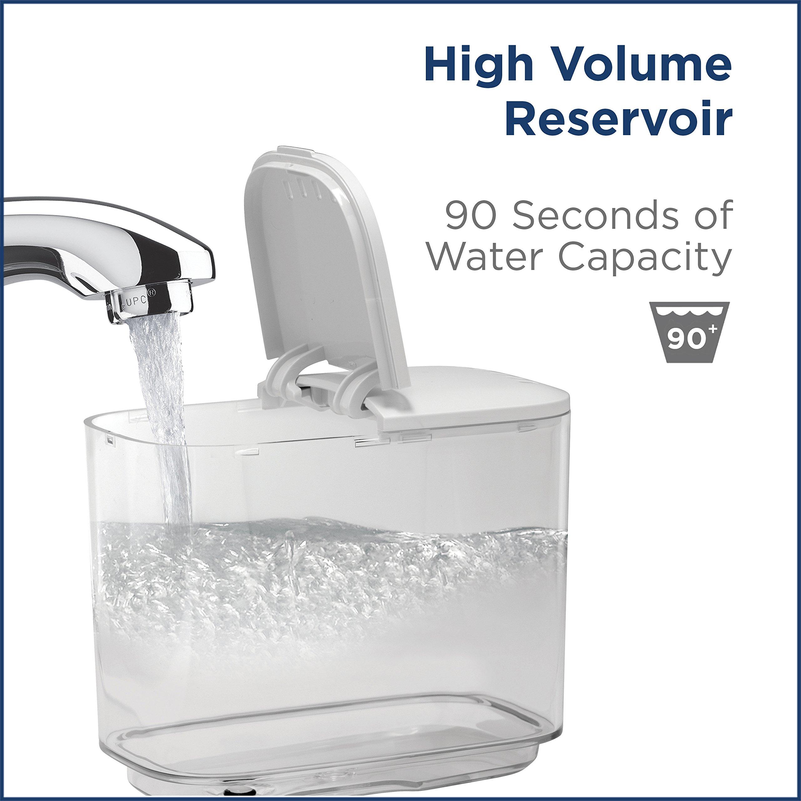 Waterpik Complete Care 9.0 Sonic Electric Toothbrush + Water Flosser, White by Waterpik (Image #10)