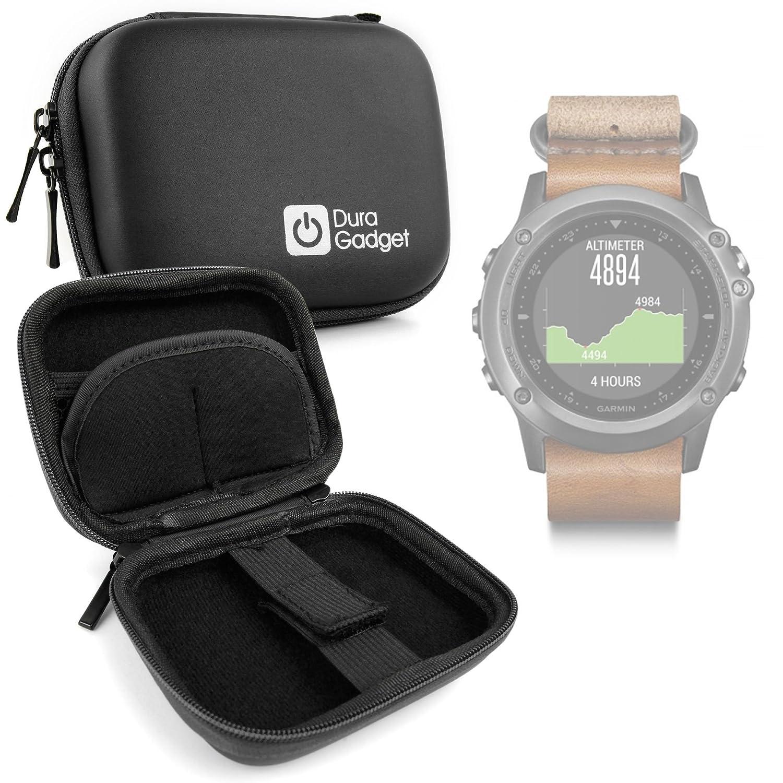DURAGADGET Estuche Rígido Negro para Sony Smartwatch 3 Classic ...