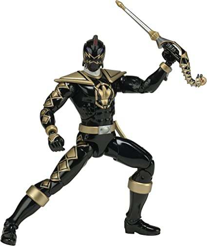 Black Ranger Power Rangers Legacy Dino Thunder Black Action Figure Bandai