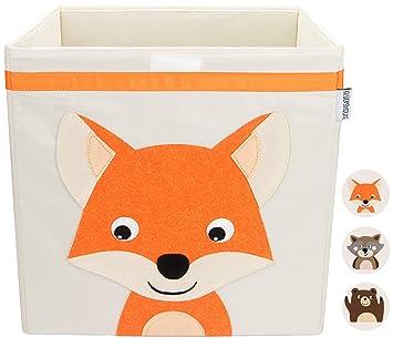 GLÜCKSWOLKE Aufbewahrungsbox für Kinder I Spielzeug Kiste mit Deckel ...