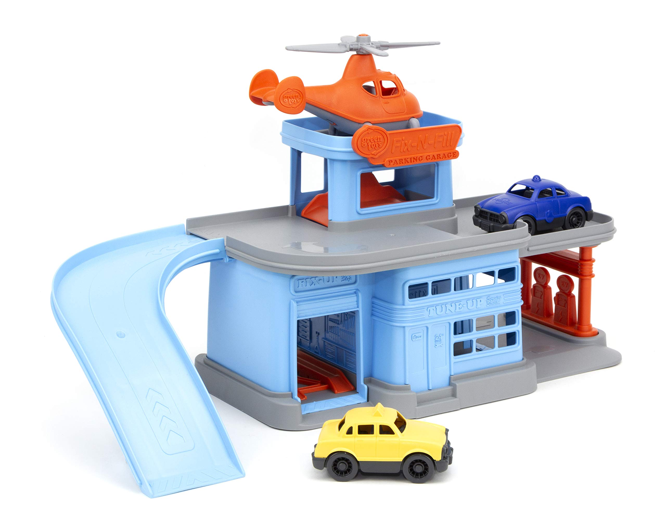 Green Toys Parking Garage