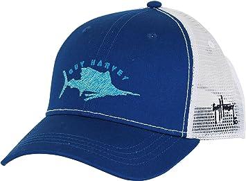 f3e0f965c4695 Amazon.com  Guy Harvey Mens Streaker Trucker Hat One Size Navy  Toys ...