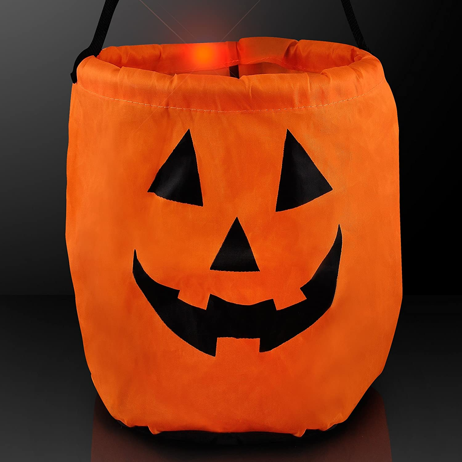 Charming Amazon.com: Pumpkin Light Up LED Trick Or Treat Bag For Halloween: Toys U0026  Games