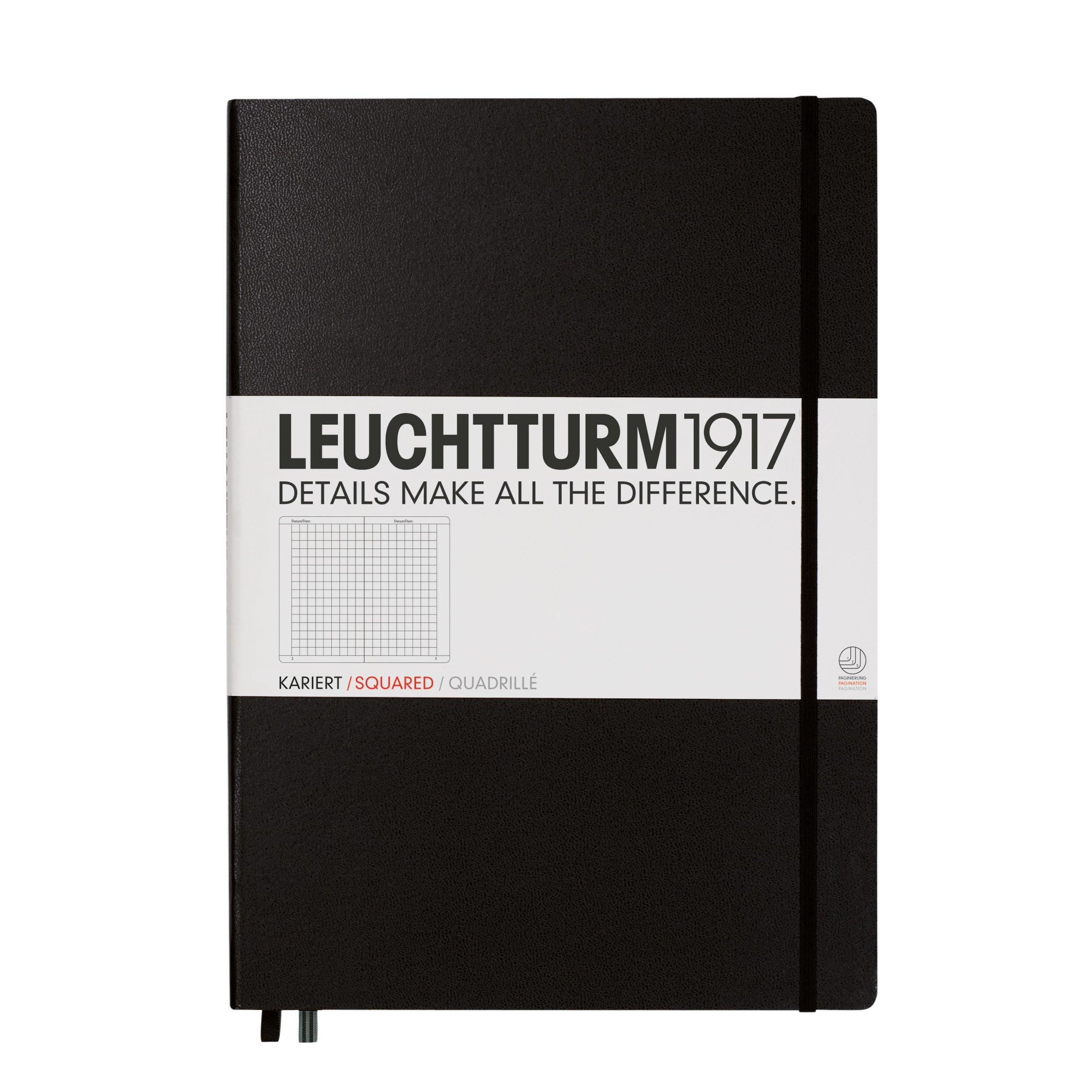 Leuchtturm1917 Master Classic Notebook Squared Black