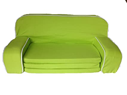 Miraculous Amazon Com Lime Green Pull Out Sofa Bed For 18 Inch Dolls Caraccident5 Cool Chair Designs And Ideas Caraccident5Info
