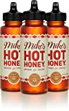 Mike's Hot Honey, 12 oz Squeeze Bottle (3 Pack), Honey with a Kick, Sweetness & Heat, 100% Pure Honey, Gluten-Free…