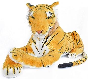 viahart 72 pulgadas gigante naranja tigre de Bengala Peluches Peluche | Rohit el Tigre