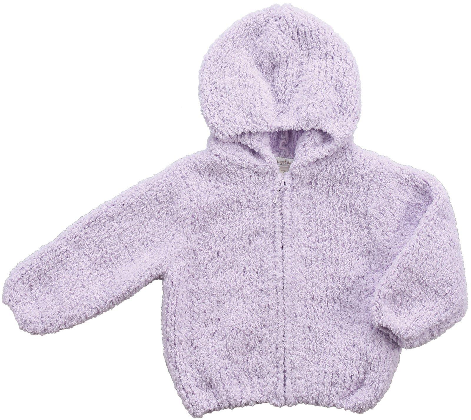 Angel Dear Hoodie (Baby)-Lavender-0-6 Months by Angel Dear