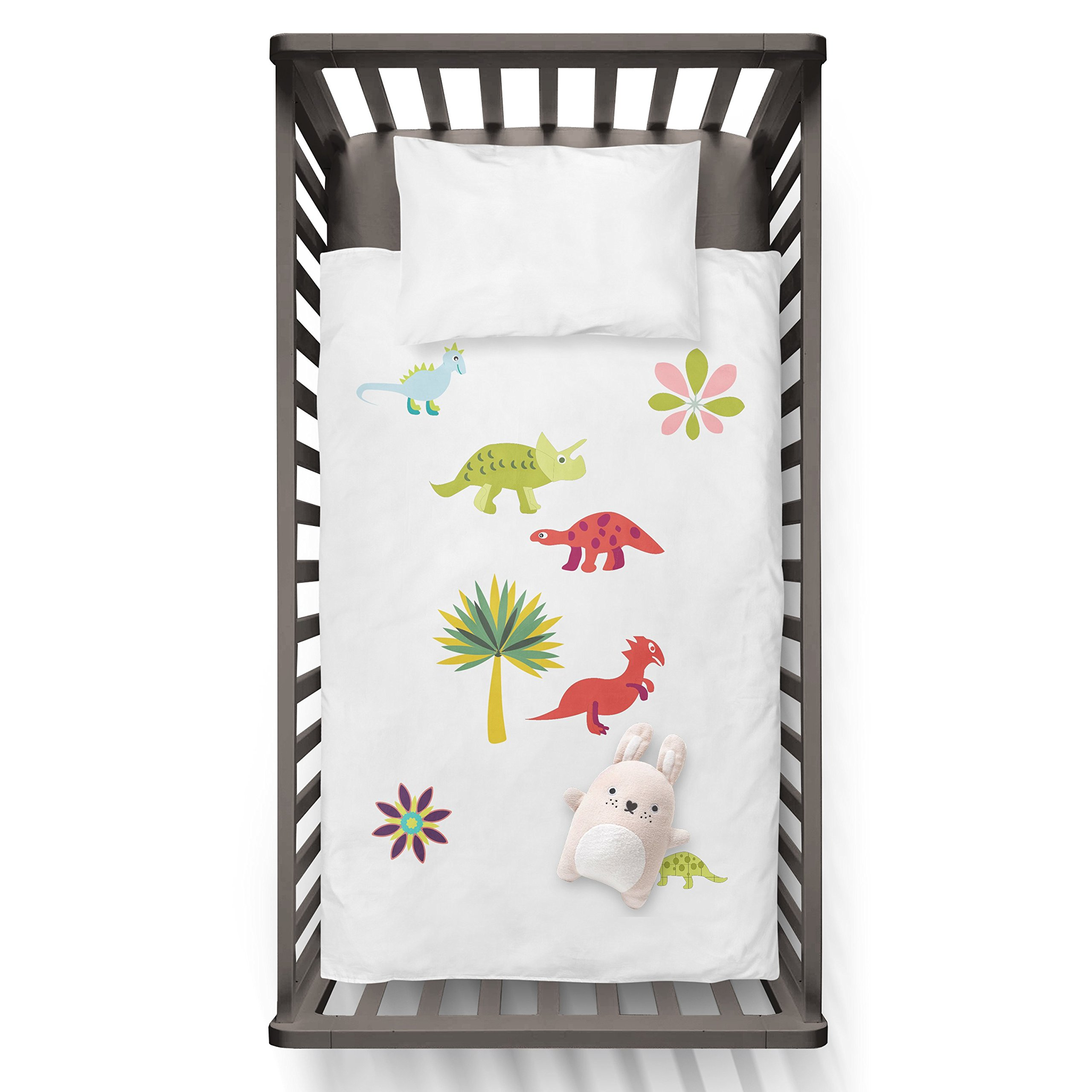 Baby Dino Duvet Funny Humor Hip Baby Duvet /Pillow set,Toddler Duvet,Oeko-Tex,Personalized duvet and pillow,Oraganic,gift