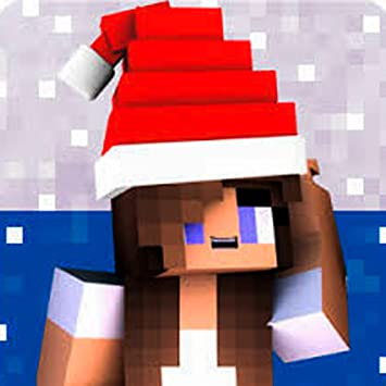 Christmas Minecraft Skin Girl.Amazon Com Christmas Girls Skins For Mcpe X Pe Appstore
