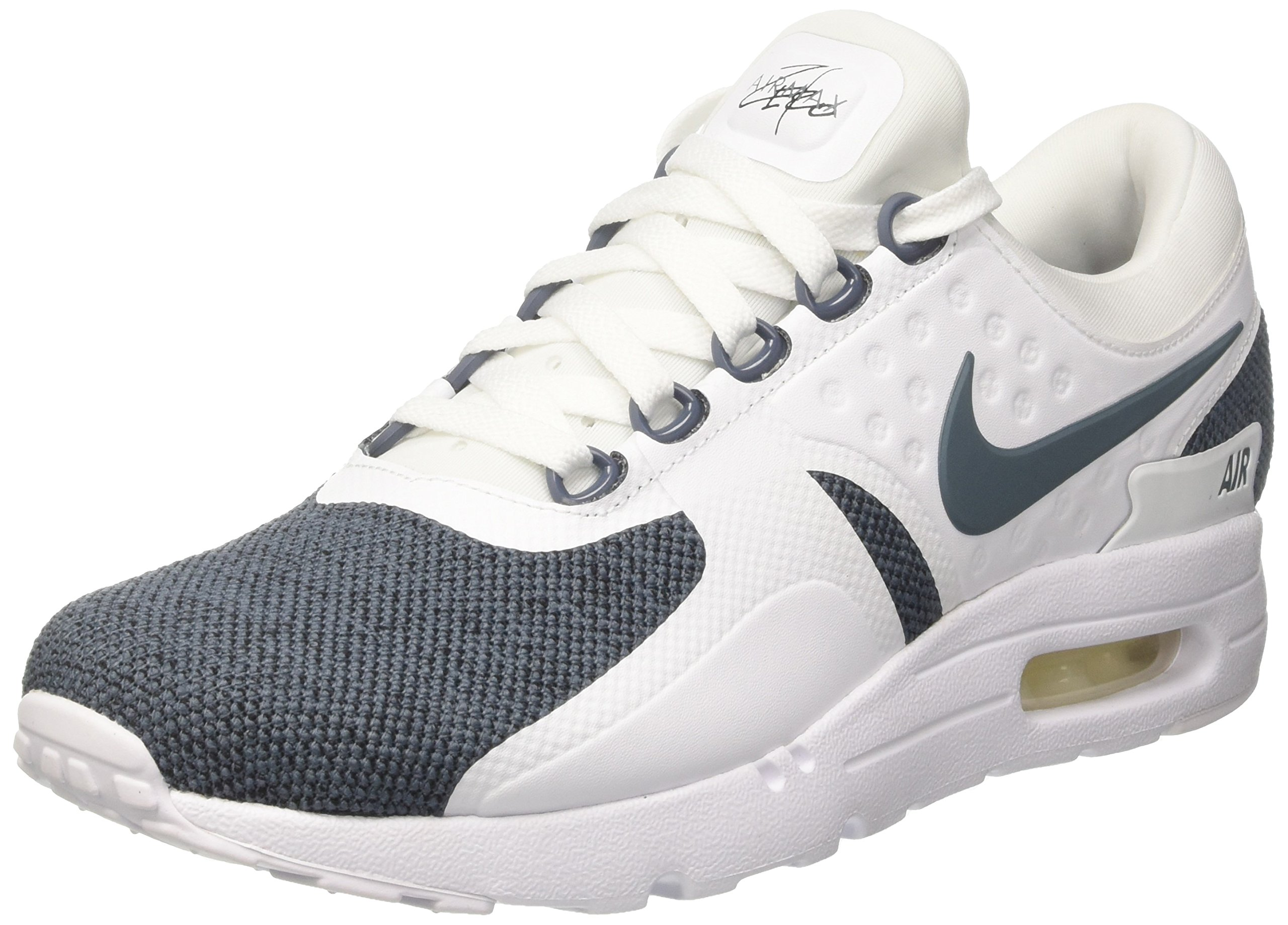 outlet store ab0d6 20d22 Galleon - Nike Air Max Zero SE Mens Running Trainers 918232 Sneakers Shoes  (UK 8.5 US 9.5 EU 43, White Blue Black 100)