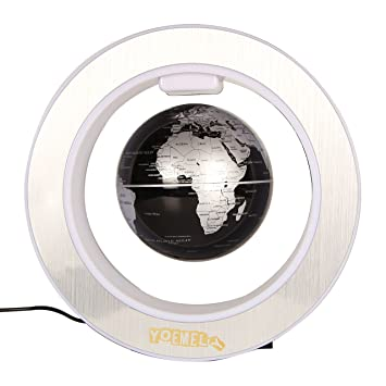 Amazon yoemely floaty globe with led circular frame 4 yoemely floaty globe with led circular frame 4 magnetic suspension earth planets manual gumiabroncs Gallery