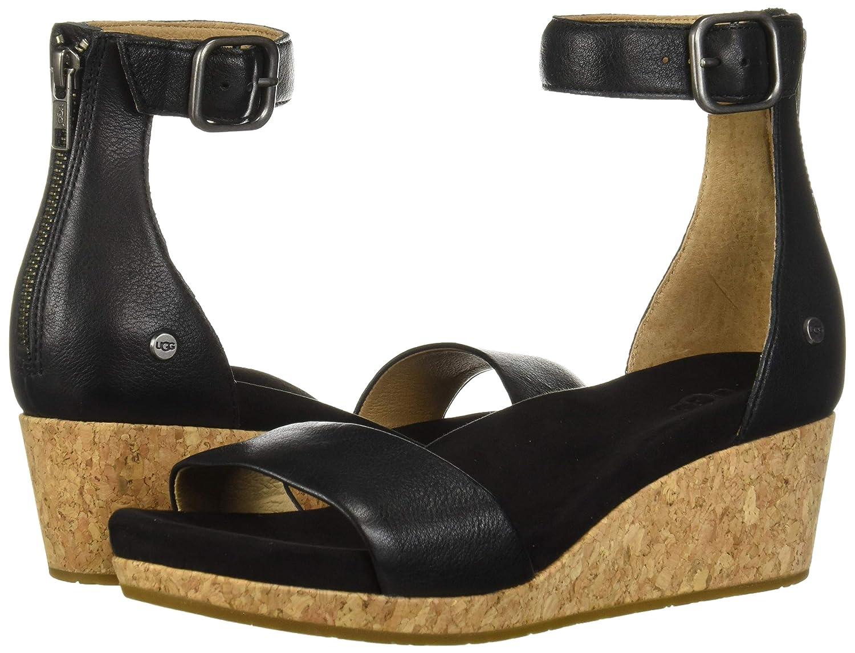 03de6fc5f3ea Amazon.com  UGG Women s Zoe Ii Wedge Sandal  Shoes