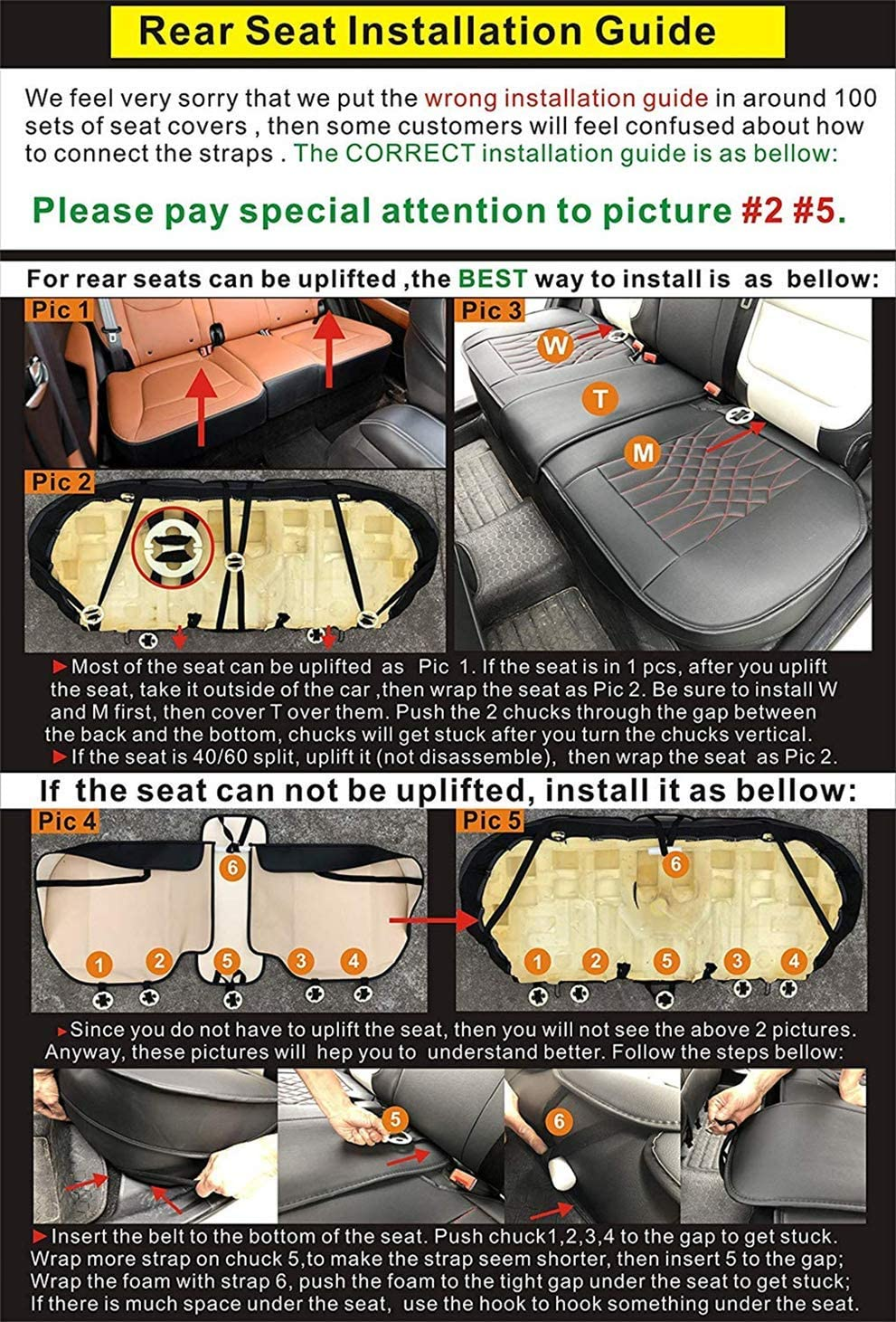 for Dodge Magnum 5 Car Seat Covers Luxury Airbag Compatible Front and Rear Seats Covers Coffee Durable Comfort Leatherette Seat Cushions with headrest and waistrest