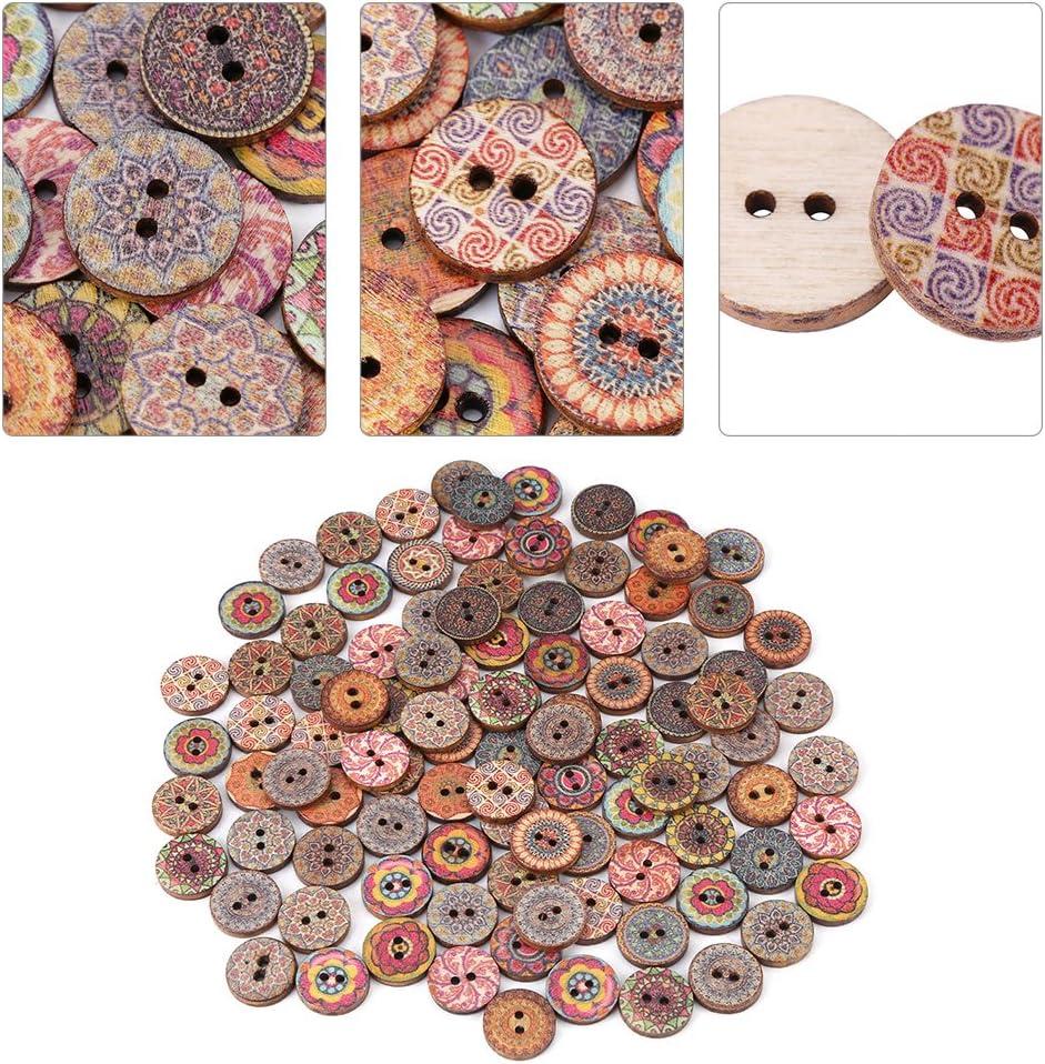 20 rose /& vert Imprimé papillon les boutons en bois choisissez 10 arts de bricolage