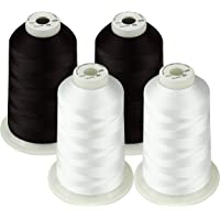 Simthread 42 Options Various Assorted Color Packs of Polyester Embroidery Machine Thread Huge Spool 5000M for All…