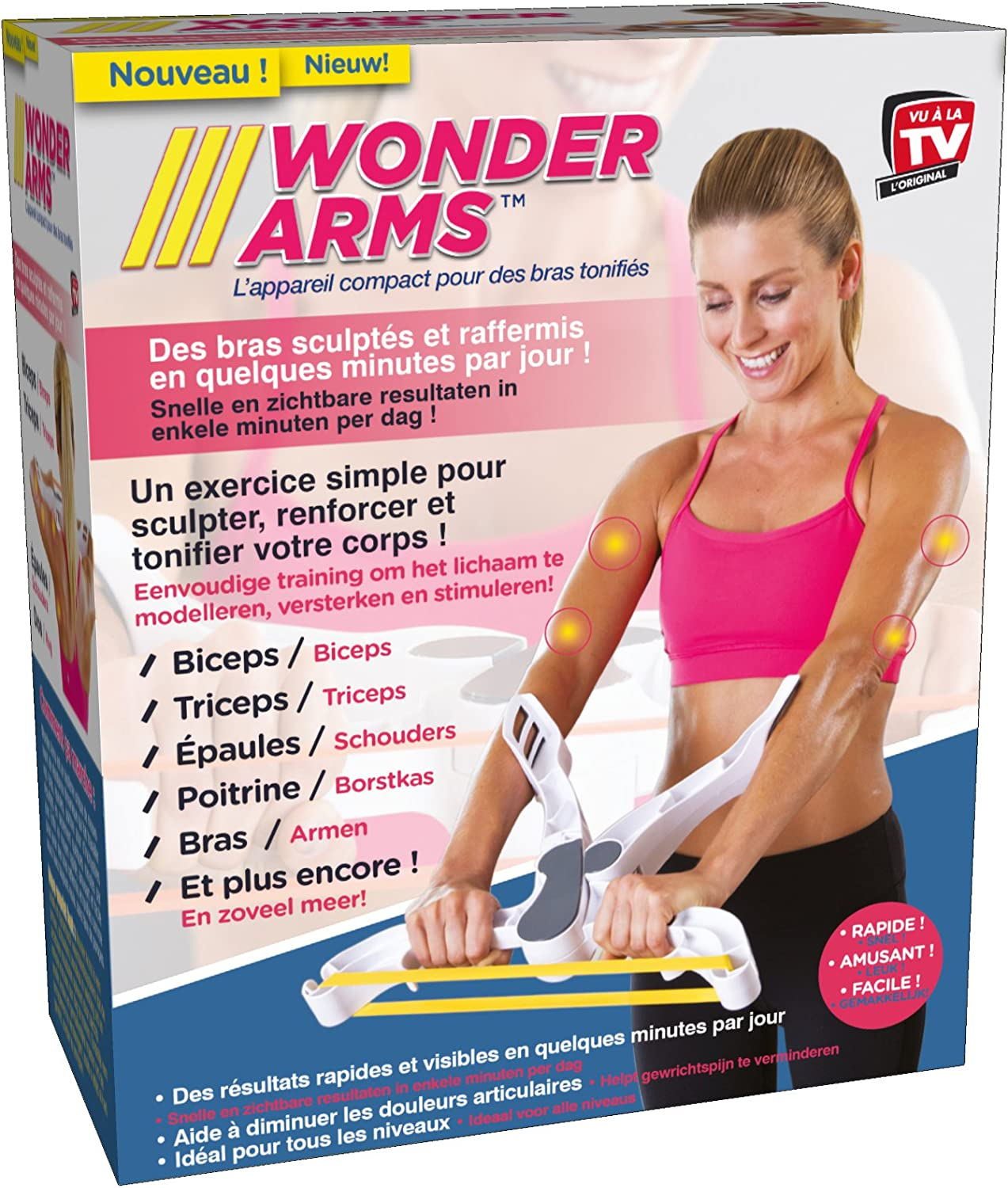 WONDER ARMS The Compact Device For Toning Arms As Seen on TV