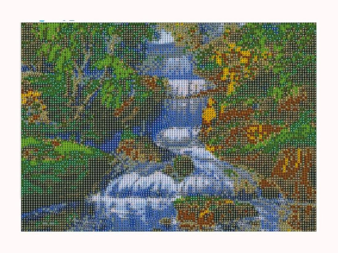 Geyou 5D Diamond Painting Full Drill Nature Views Stitch DIY Embroidery Diamond by Number Kits Wall Decor Gift New,Crafts /& Sewing Cross Stitch B