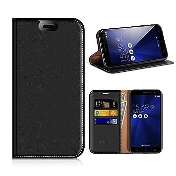 MOBESV Funda Cartera ASUS Zenfone 3 ZE520KL, Funda Cuero Movil ASUS Zenfone 3 Carcasa Case con Billetera/Soporte para ASUS Zenfone 3 ZE520KL 5.2 ...