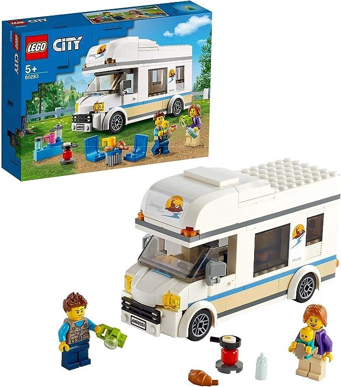 LEGO 60283 City Autocaravana de Vacaciones Juguete de ...