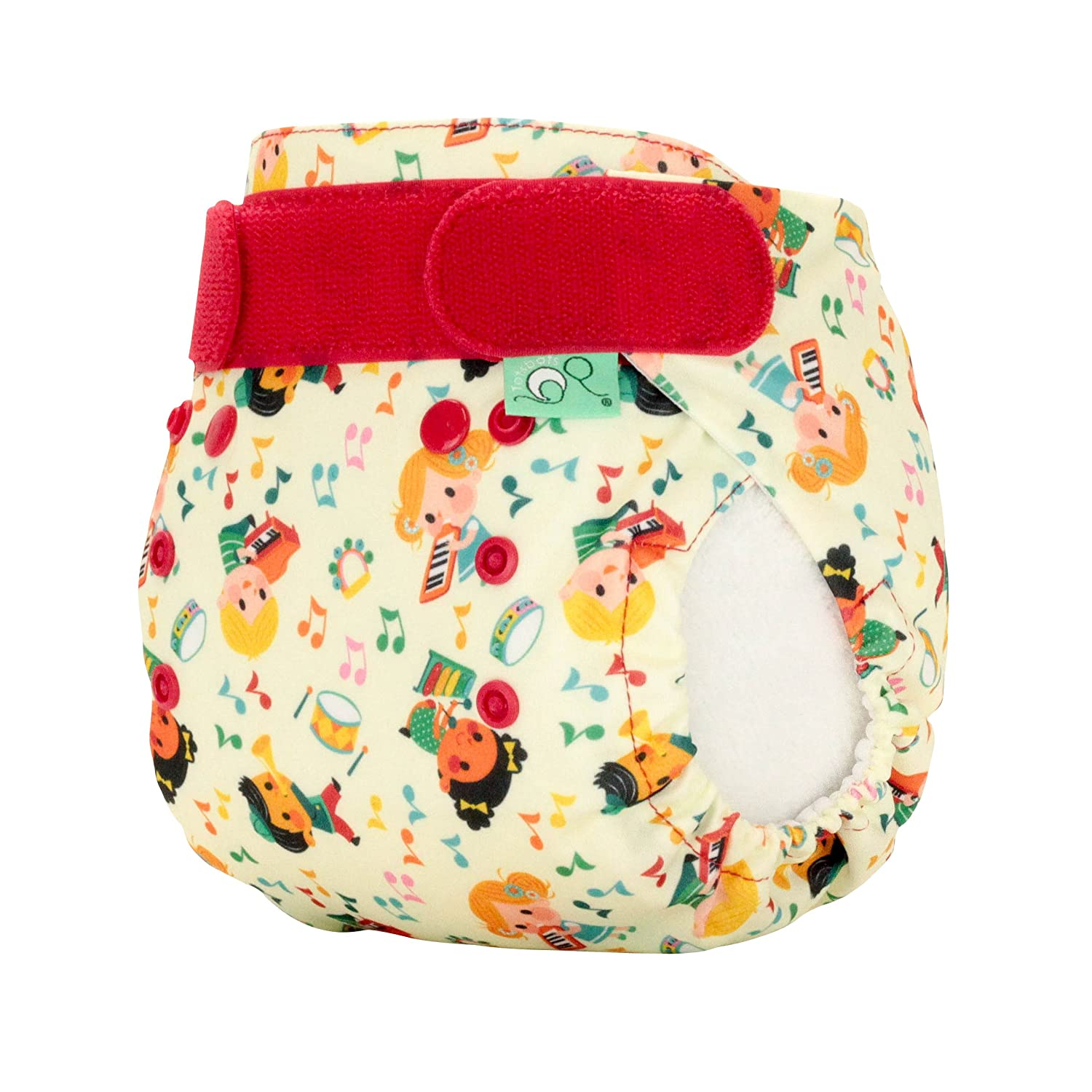 TotsBots PeeNut Waterproof Wrap Size 2 in a Parumpapum Design for use with the Bamboozle Nappies Tots Bots Limited 5060510760653