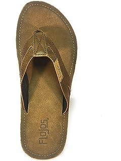 507b4ff71dec8 Flojos Alonzo Men s Comfort Flip Flops Sandals Shoes