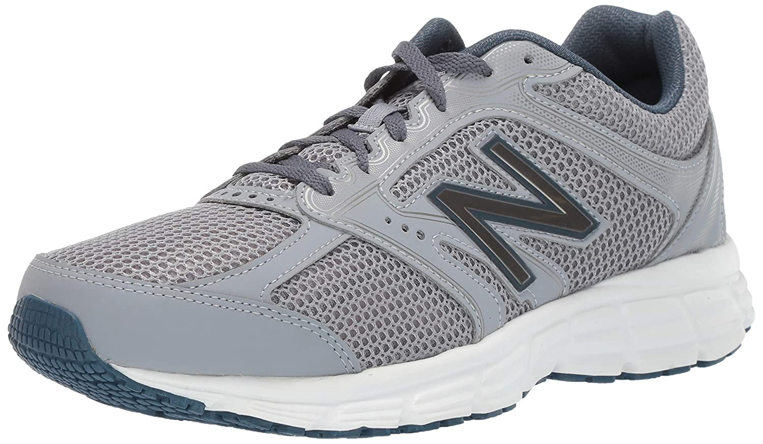 New Balance Men s 460v2 Cushioning Running Shoe, steel north sea, 15 W US
