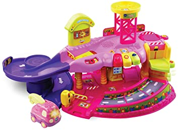 V Tech Garage : Vtech 80 124954 tut tut baby flitzer garage pink: amazon.de