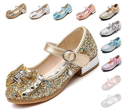Kikiz Little Girl s Princess Dress Shoes Kids Mary Jane 7 M US Toddler 37918ad3d84c