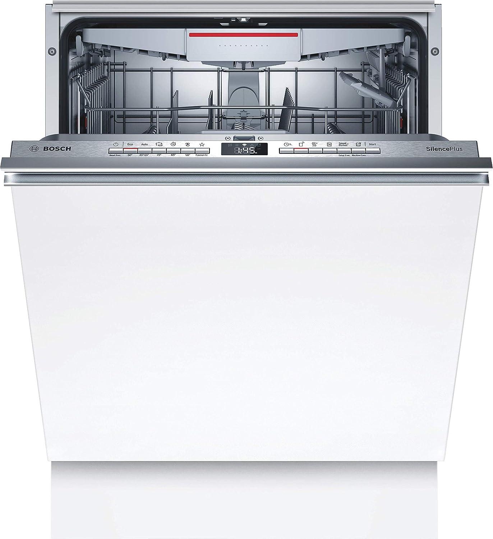 Bosch SMH4HCX48E Serie 4 Lavavajillas totalmente integrado, A++, 60 cm, 266 kWh/año, 14 MGD, SuperSilence, secado extra, cajón Vario, Home Connect