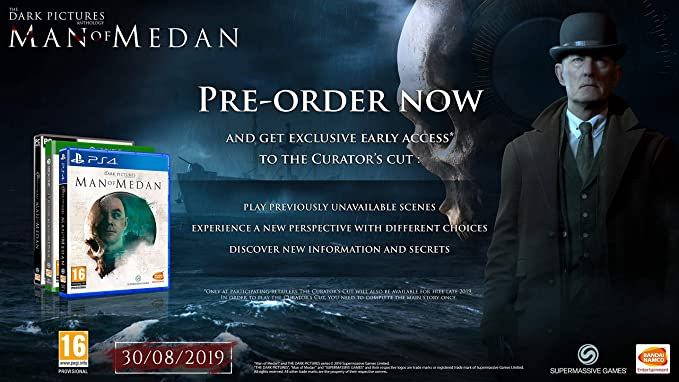 The Dark Pictures Anthology - Man of Medan - Xbox One [Importación ...
