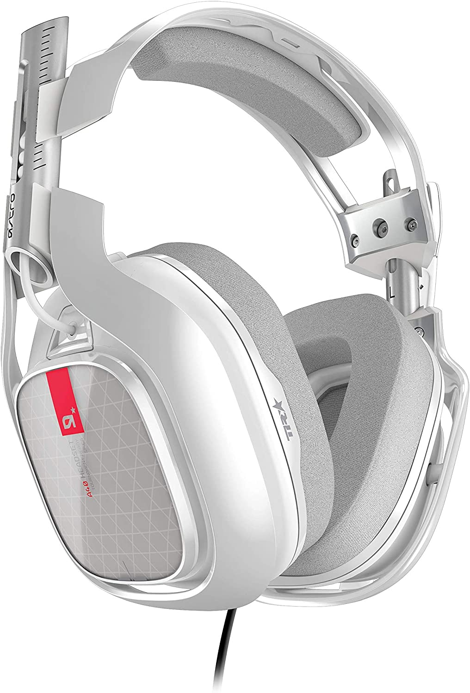 Astro A40 Tr Gaming Headset 3 Generation Dolby 7 1 Surround Sound 3 5 Mm Klinke Austauschbares Mikrofon Lautsprecher Tags Leichtgewicht Mod Kit Kompatibel Pc Mac Ps4 Weiß Games