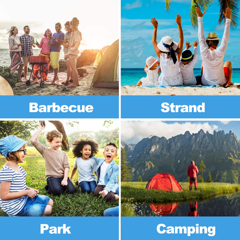 UV Lightweight Waterproof Foldable Outdoor Beach Camping Tent as Sun Shelter Children Family and Dog on Garden Zenoplige Pop Up Tent Beach