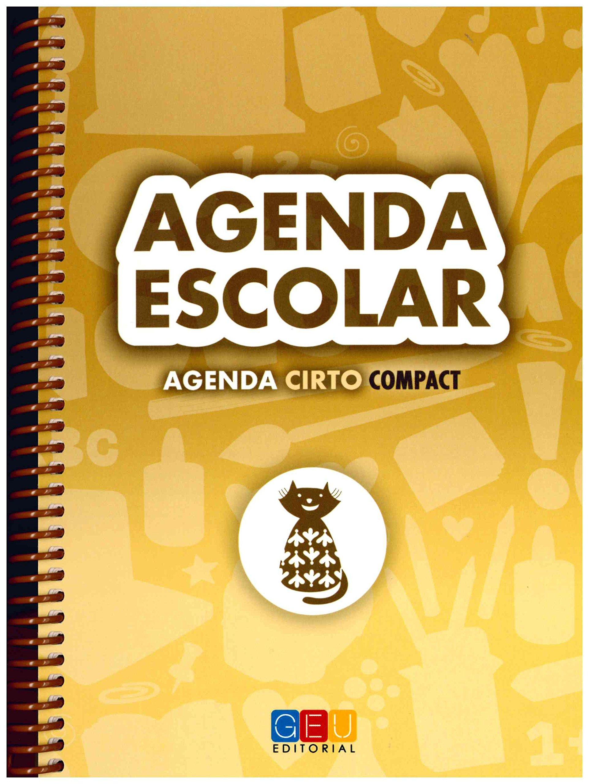 AGENDA ESCOLAR CIRTO COMPACT: 8436548131562: Amazon.com: Books