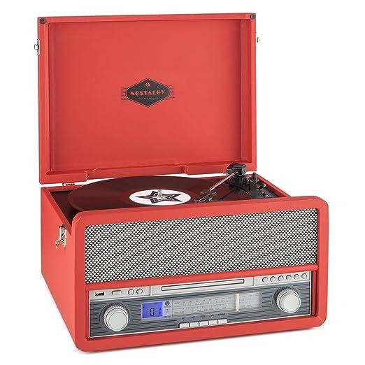 7 opinioni per auna Belle Epoque 1907 Impianto stereo multifunzione dallo stile vintage, con