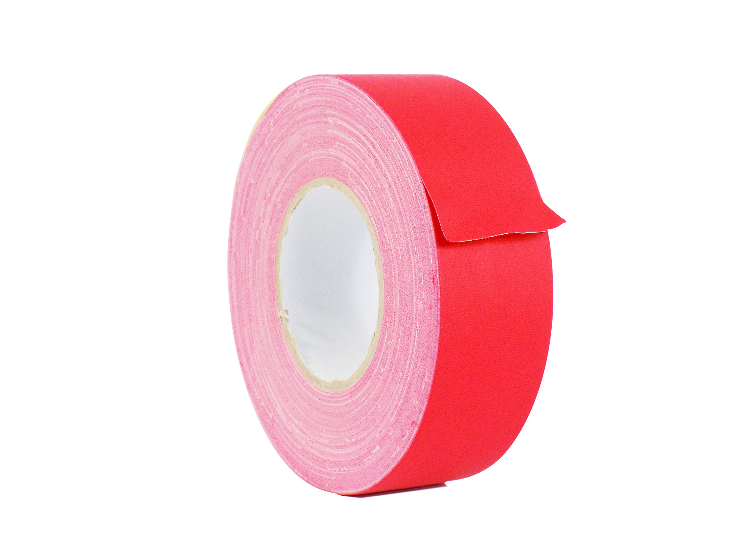 WOD CGT-80 Red Gaffer Tape Low Gloss Finish Film, Residue Free, Non Reflective Gaffer, Better than Duct Tape (Available in Multiple Sizes & Colors): 2.5 in. X 60 Yards (Pack of 1)