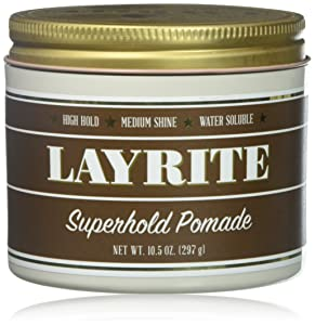 Layrite Superhold Pomade, 10.5 Oz