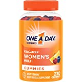 One A Day Women's Vitacraves Multivitamin Gummies, Supplement with Vitamins A, C, E, B6, B12, Calcium, Vitamin D, 230Count (Packaging May Vary)