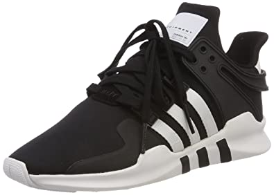 sports shoes ada50 bcfac adidas Eqt Support Adv Mens Fashion Trainers in Black White - 10 UK