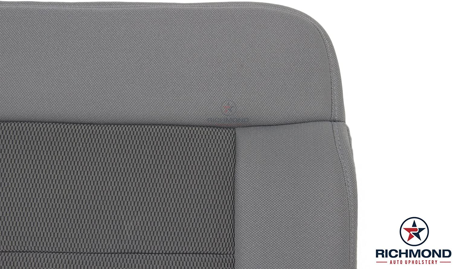 2004 2005 2006 Ford F-150 F150 XLT Driver Side Bottom Replacement Cloth Seat Cover Gray