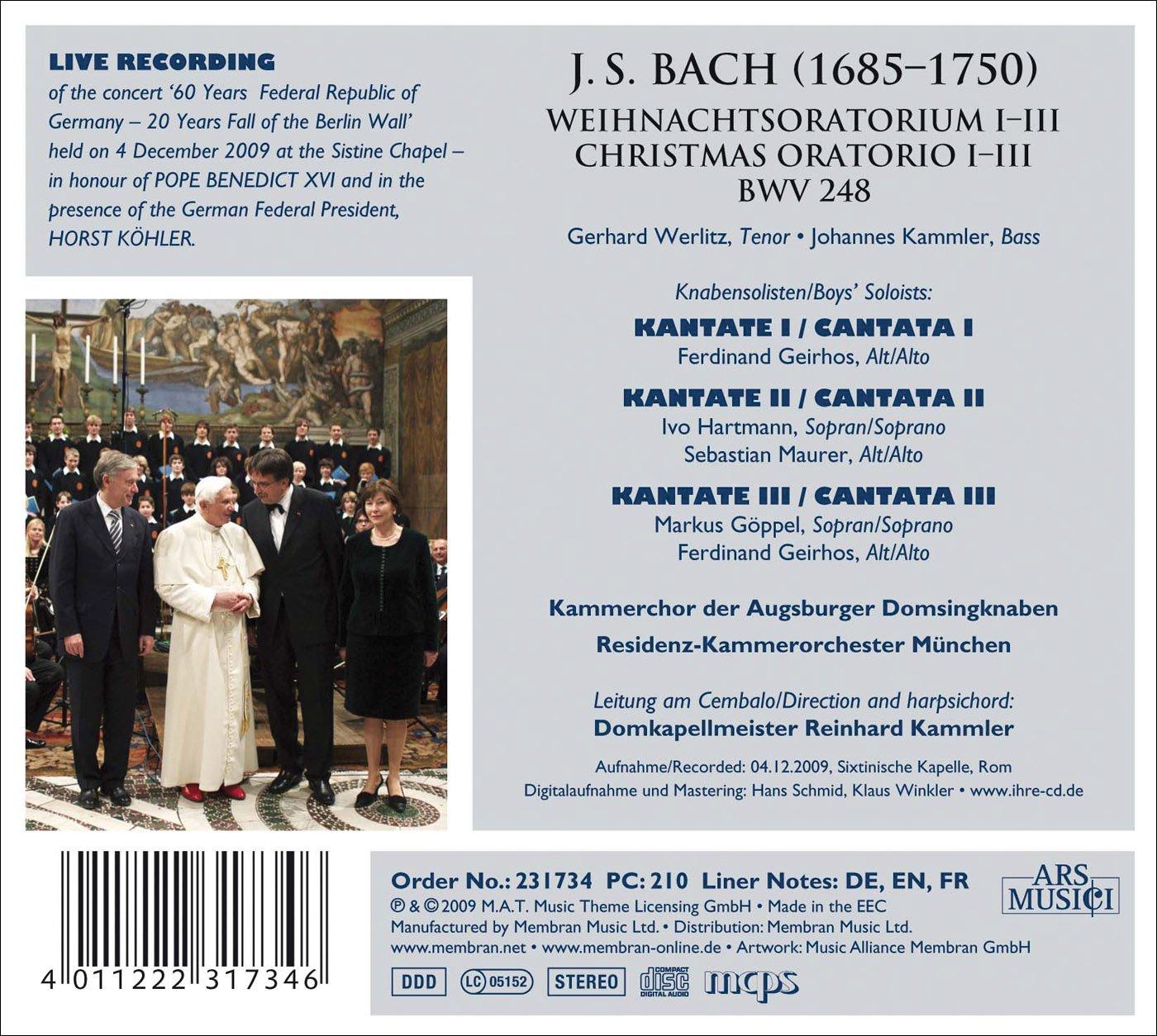 Christmas Oratorios I-III
