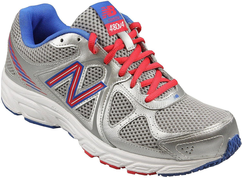 New Balance W480, Zapatillas de Running para Mujer, Plateado, 5 UK ...