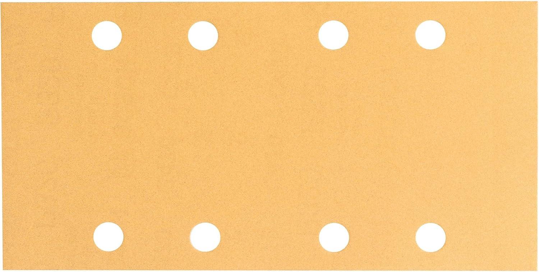 Bosch 2608605257 Feuille abrasive 10 pi/Ã/¨ces 93 x 185 mm Grain 180