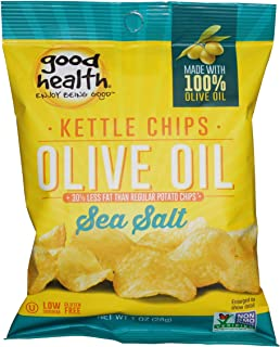 product image for Good Health Natural Olive Oil Sea Salt Kettle Chips, 1 Ounce -- 30 per case.