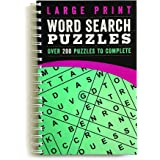 Large Print Word Search Puzzles: Over 200 Puzzles to Complete