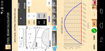 Amazon com: STEEL BEAM CALCULATOR: Appstore for Android