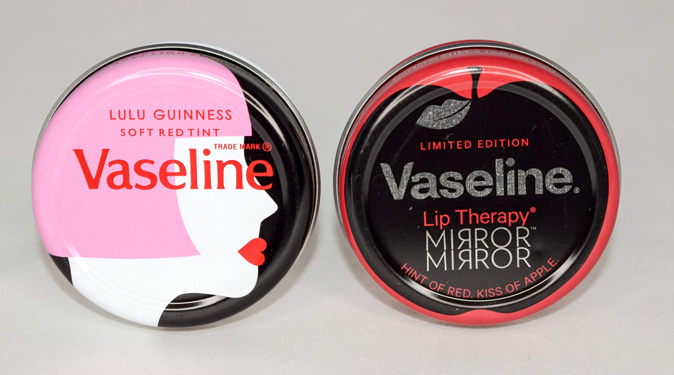 Vaseline Lip Therapy Mix Limited Edition Lulu Guinness +Mirror Mirror 20Gm (Mix Vaseline Limited Edition Lip Therapy Lulu Guinness +Mirror Mirror, 24X20Gm)